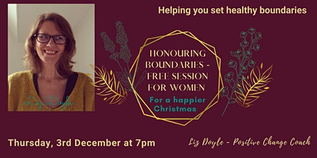 Honouring Boundaries - FREE Session for Women tickets