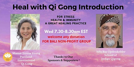 Online: Medical Qi Gong Introduction with Sifu Bas and Master Teresa tickets