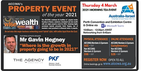 WISE WEALTH SERIES | Property Event of the Year 2021 tickets