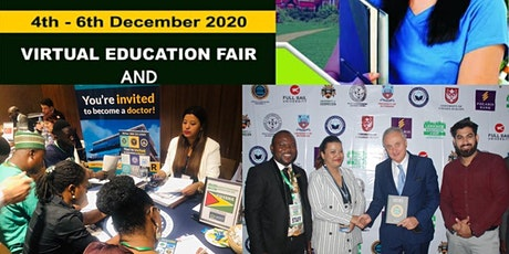Abuja International  virtual education fair December 2020 Online tickets