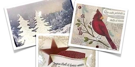 Créer une carte de Noël - Atelier animé par Mireille Doyle tickets