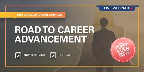 Virtual Open Day | Road to Career Advancement Tickets
