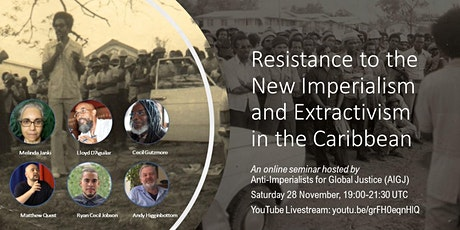 Resistance to the New Imperialism and Extractivism in the Caribbean tickets