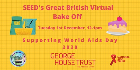 SEED's Great British Virtual Bake Off tickets