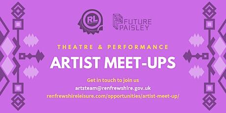 Renfrewshire Artists Meet-Up: Theatre & Performance tickets