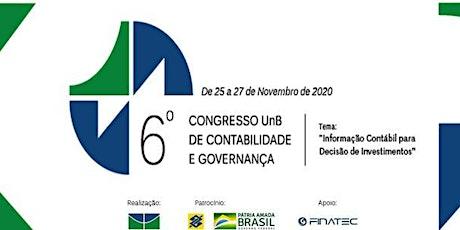 6º Congresso UnB de Contabilidade e Governança ingressos
