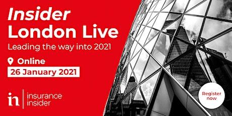 Insider London Live 2021, from Insurance Insider tickets
