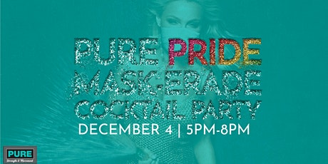 Pure Pride Mask-erade Cocktail Party tickets