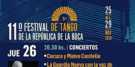 Cañón en el Festival de Tango de La Boca entradas