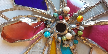 Stained Glass Flowers and Ornaments Workshop at Trevince tickets