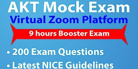 Virtual ZOOM AKT Mock Exam tickets