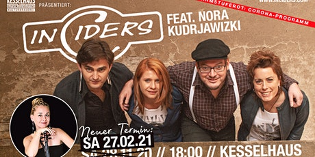 """20 Jahren Irish Folk"" InCiders live  Special Guest: Nora Kudrjawizki Tickets"