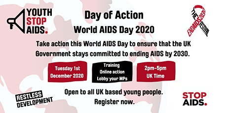 Youth Stop AIDS Virtual Day of Action tickets