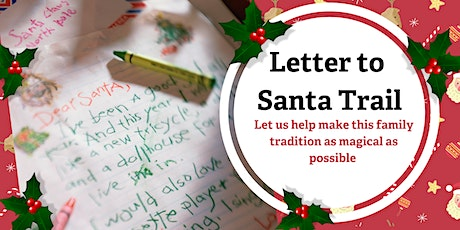 Letter to Santa Trail December 10th tickets