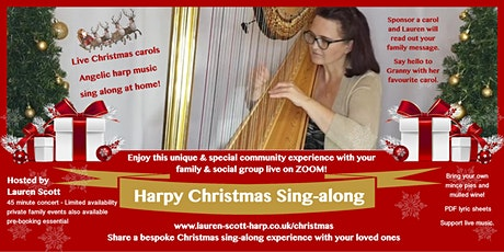 Harpy Christmas Sing-along tickets