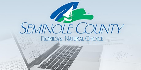 FREE Seminole County Building Division ePlan User Training tickets