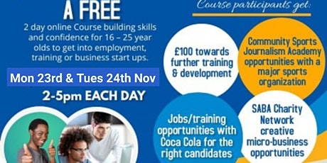 Reach UP! 2-day course tickets