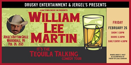 William Lee Martin tickets
