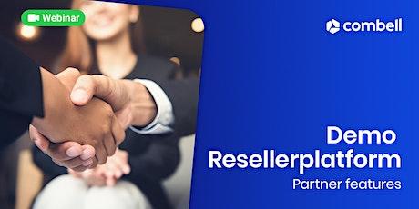 Hoe gebruik je het resellerplatform als partner van Combell tickets