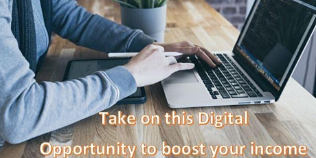 Take on this Digital Opportunity to boost your income ( BOT Event )