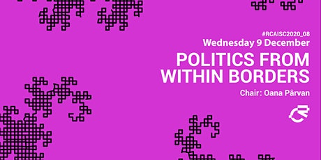 08_Politics from within Borders: Panel + Screening tickets