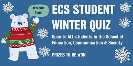 ECS Student Winter Quiz tickets