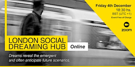 London Social Dreaming Hub tickets
