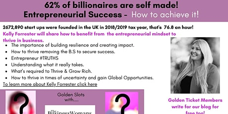 Entrepreneurial Success -  How to achieve it! Networking and Coaching tickets