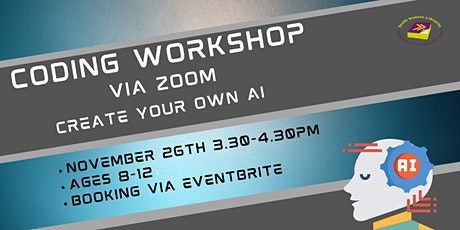 Coding Workshop Via Zoom - Create your own AI tickets