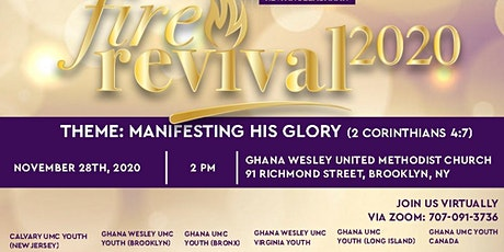 Association of Ghana United Methodist Churches Youth Annual Fire Revival tickets
