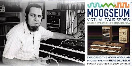 Virtual Moogseum Tour: Moog Prototype and Herb Deutsch tickets
