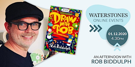 An Afternoon with Rob Biddulph tickets