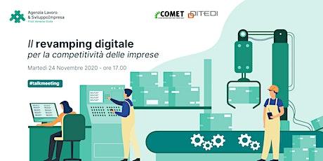 #talkmeeting | Il revamping digitale per la competitività delle imprese biglietti
