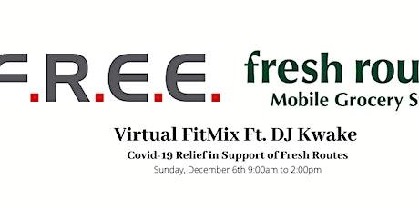 F.R.E.E. FitMix Featuring DJ Kwake tickets