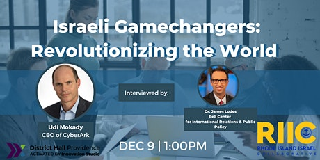 Israeli Gamechangers: Revolutionizing the World tickets
