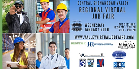 Central Shenandoah Valley REGIONAL Virtual Job Fair (EMPLOYERS ONLY) tickets