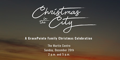 Christmas In The City | 2:00PM SEATING tickets
