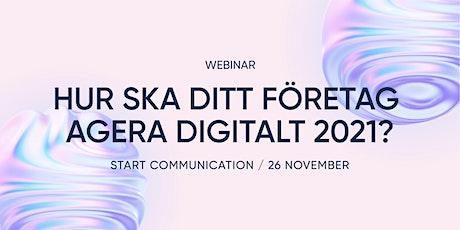 Hur ska ditt företag agera digitalt 2021? biljetter
