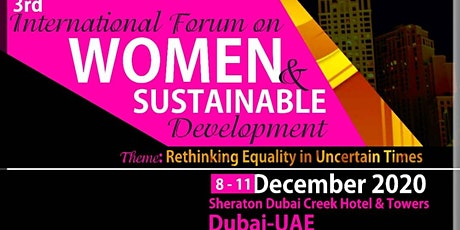 INTERNATIONAL FORUM ON WOMEN AND SUSTAINABLE DEVELOPMENT tickets