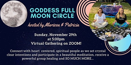 November Full Moon Goddess Circle (Virtual) tickets