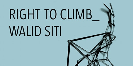 Right to Climb - Walid Siti & Vicky Richardson Talk tickets