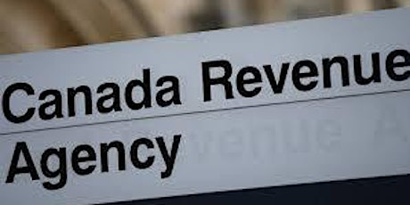 Tax Tips from the Canada Revenue Agency tickets
