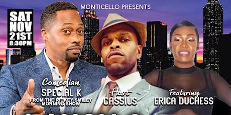 SATURDAY NIGHT COMEDY IN MONTICELLO'S SPORTS BAR tickets