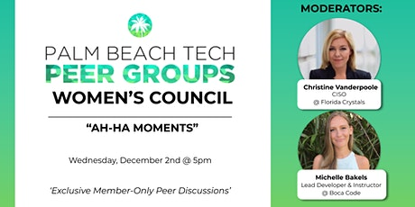 WOMEN'S PEER GROUP | 'AH-HA MOMENTS' tickets
