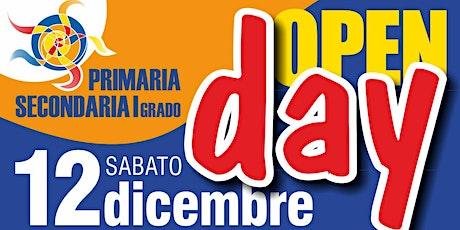 Open Day ELEMENTARI - Sabato 12 Dicembre dalle 10.30 alle 11.30 biglietti