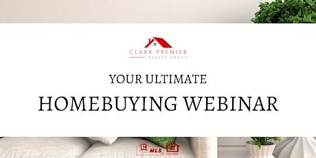 Ultimate Homebuyer Webinar tickets