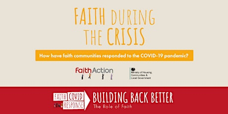 Building Back Better Conference: Faith During the Crisis tickets