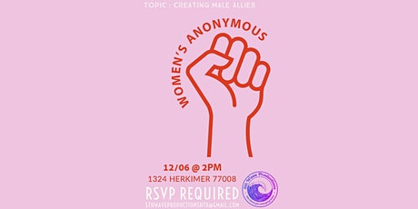 Women's Anonymous tickets