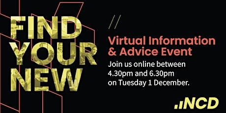 Virtual Information & Advice -  01 December 2020