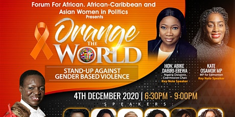 Orange The World - Stand-Up Against Gender Based Violence tickets